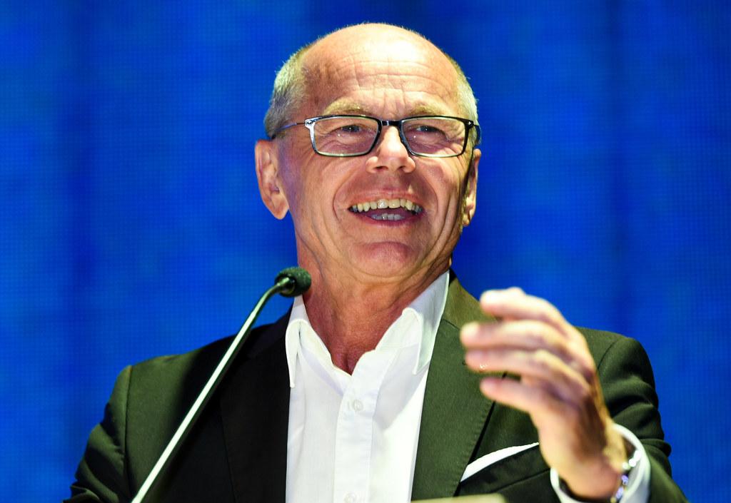 Landeshauptmann-Stellvertreter Christian Stöckl bei der ÖSV Länderkonferenz in S..