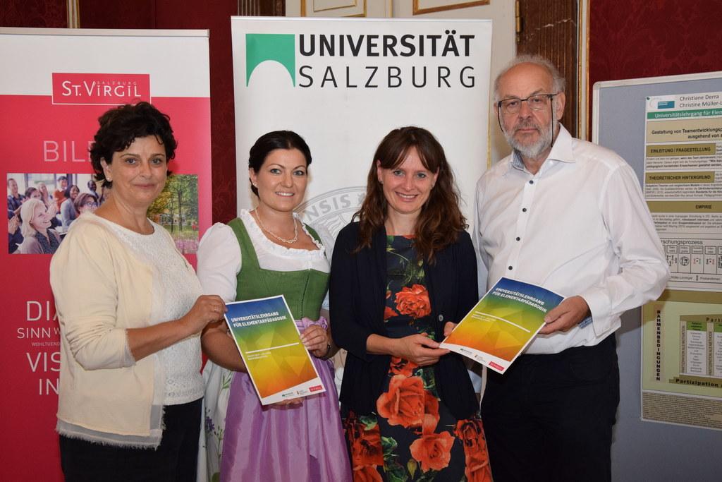 Von links nach rechts: Michaela Luckmann (Projektleiterin St. Virgil Salzburg), ..