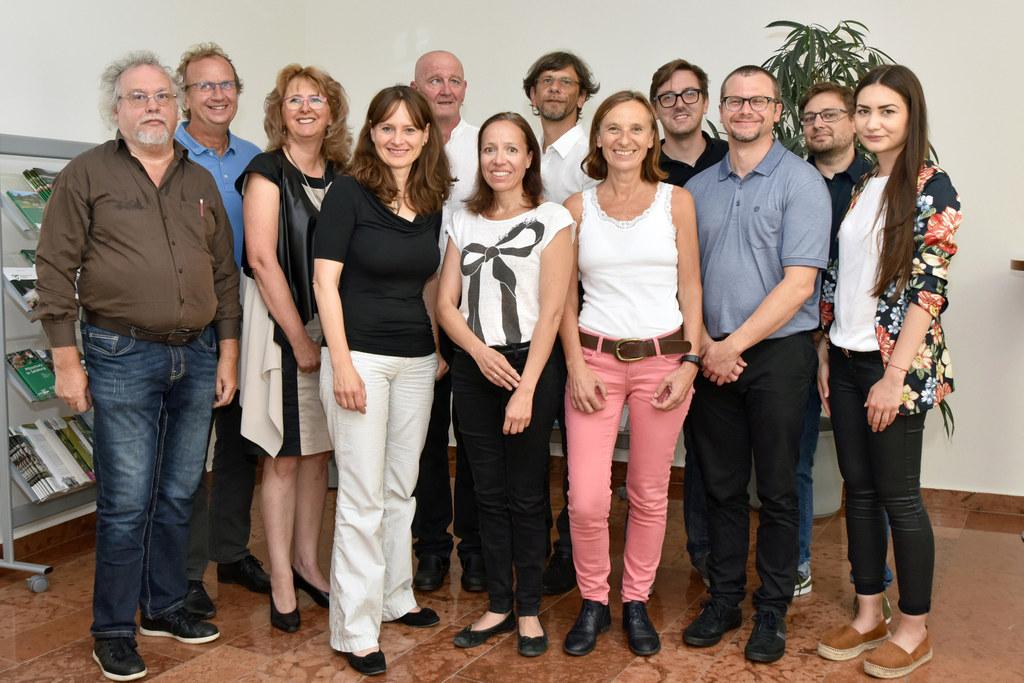 Die Mitglieder des Monitoringausschusses mit Landesrätin Martina Berthold.