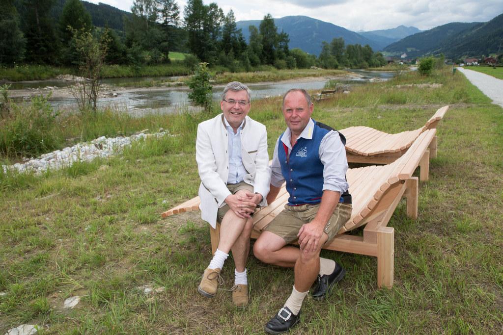 Landesrat Josef Schwaiger und TVB-Obmann Reinhard Doppler