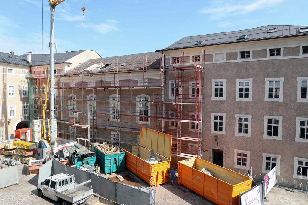 Umbauarbeiten im Chiemseehof