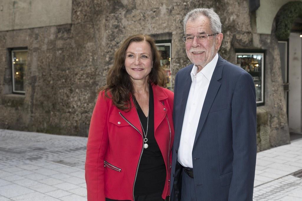 Gudrun Mosler-Törnström und Bundespräsident Alexander Van der Bellen.