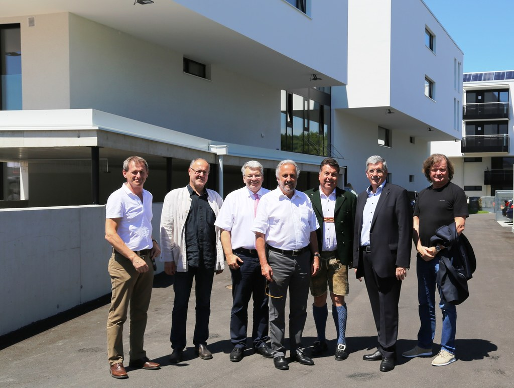 Christian Lechner (Baumeister), LAbg. Josef Scheinast, Peter Rassaerts, Bernhard..