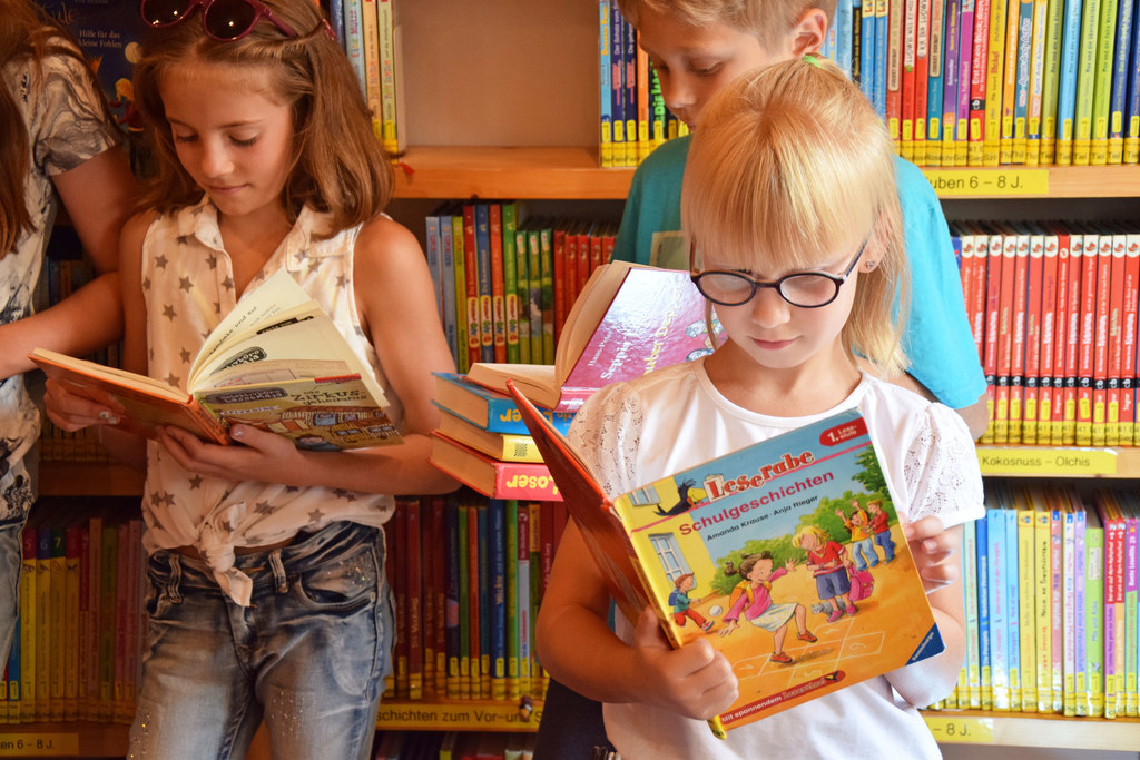 Lesen und Gewinnen in Salzburgs Bibliotheken.