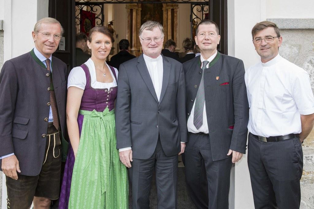 Landeshauptmann Wilfried Haslauer, Landtagsabgeordnete Michaela Langer-Weninger,..