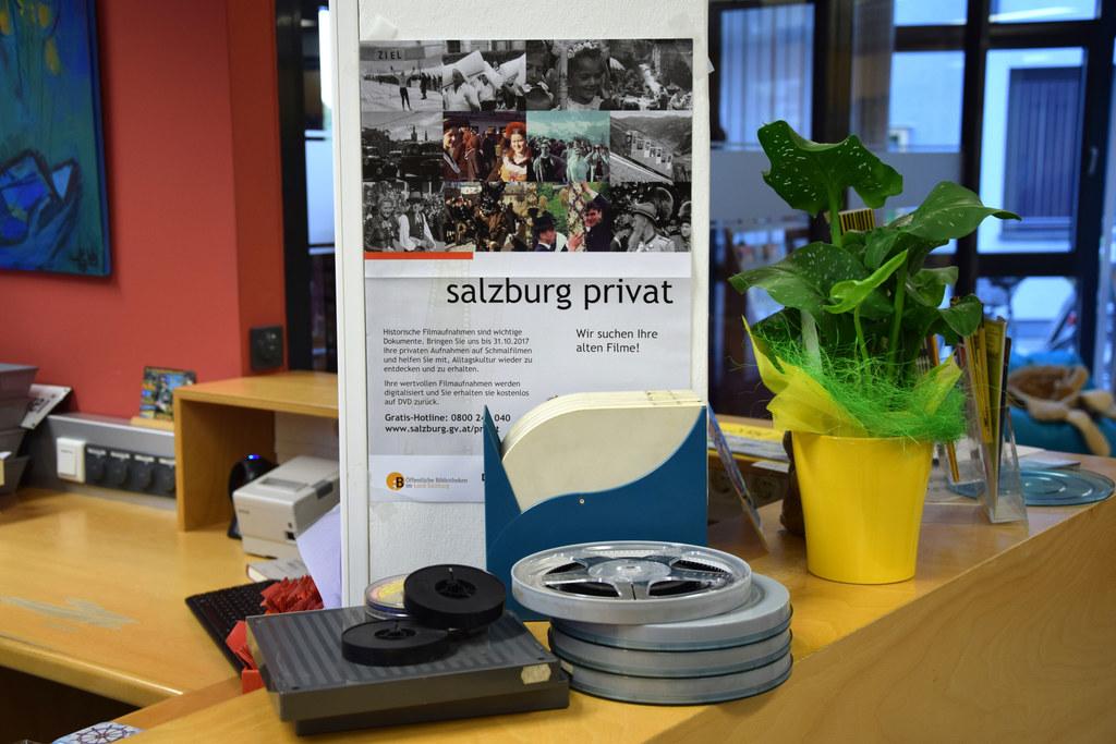"""Für die Aktion """"salzburg privat"""" wurden bereits fast 15.200 Filme abgegeben."""