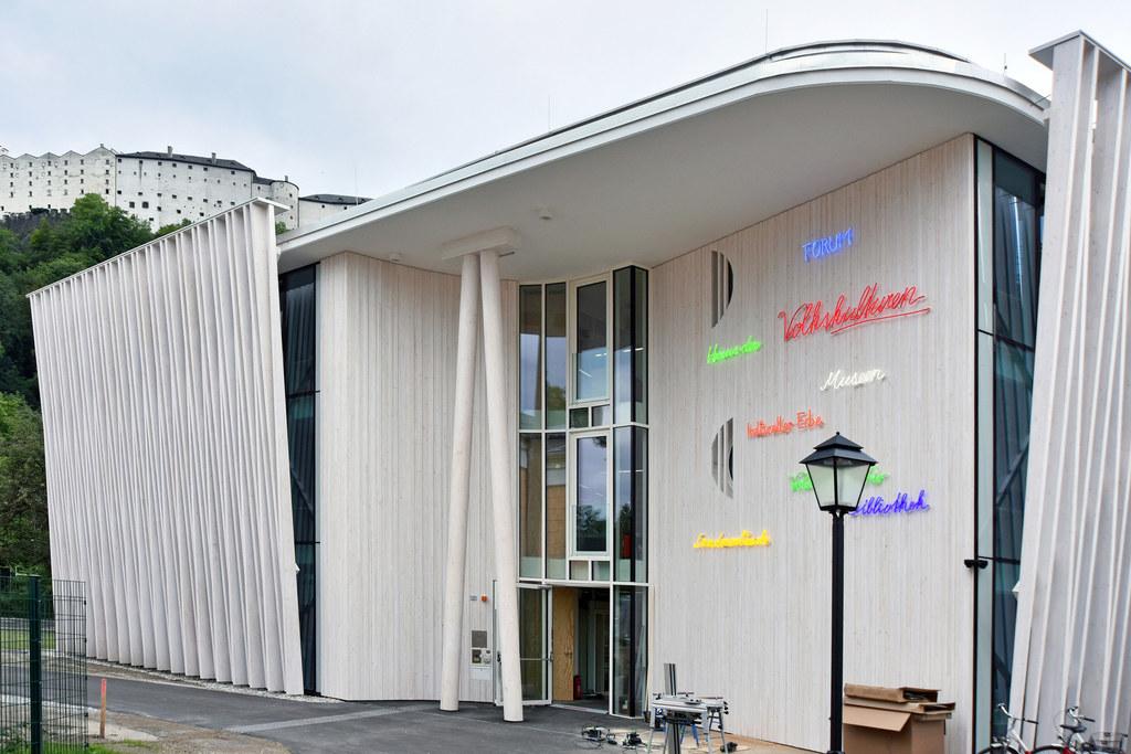 Das neue Haus der Volkskulturen wird am Sonntag, 17. September, eröffnet.