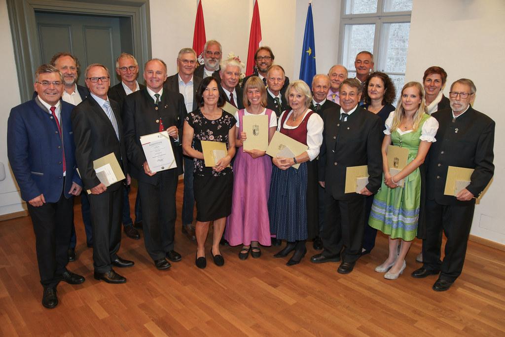 Verleihung Salzburger Umwelt-Verdienstzeichen
