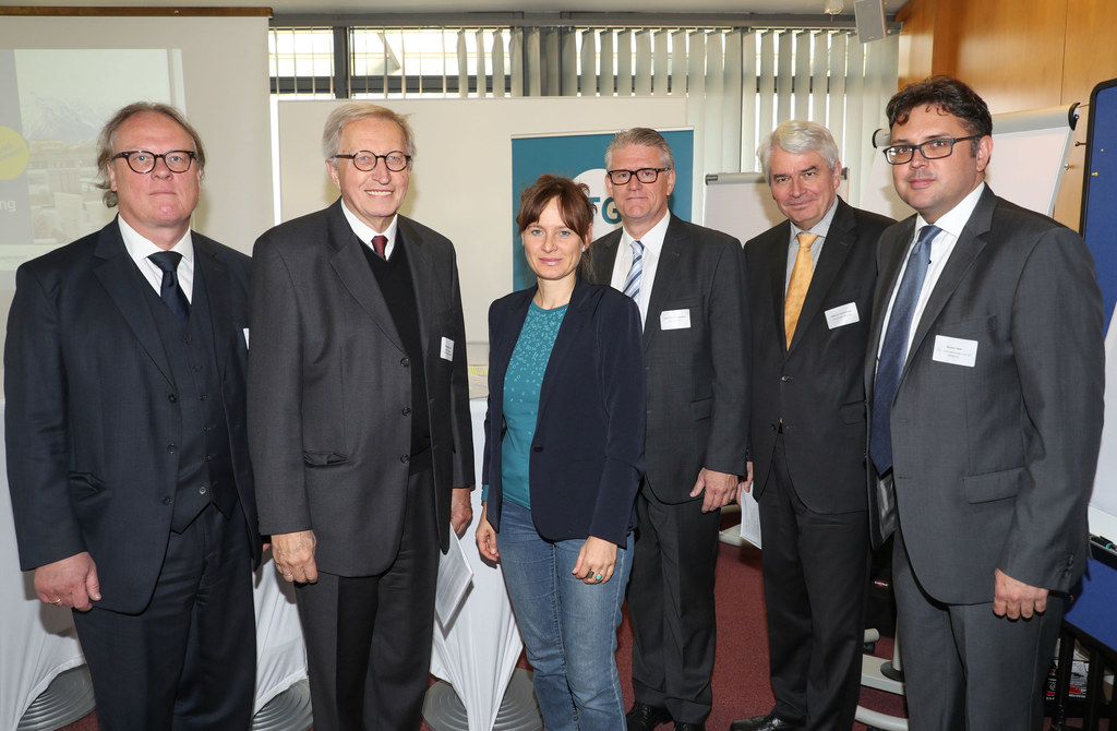 Gerhard Blechinger (Fachhochschule Salzburg), Reinhard Kögerler (Präsident Chris..