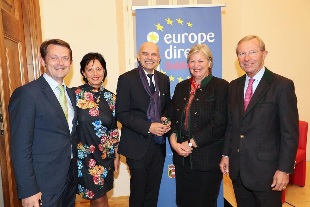 Marc Fähnrich (Europäische Kommission), Gritlind Kettl (EU-Bürgerservie und Euro..