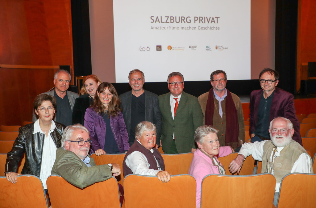 Mella Blazovich (Land Salzburg, Büro 20.16), Landesrätin Martina Berthold, Filme..
