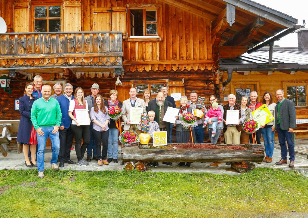 Sieger gesamt Almsommerhütte des Jahres 2017