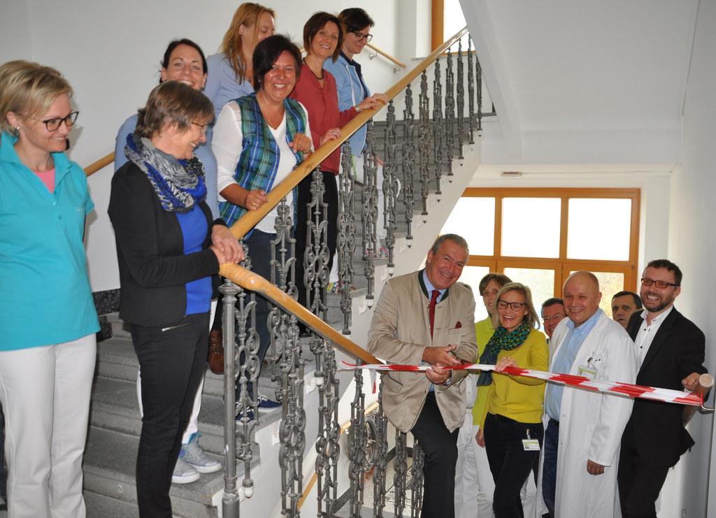 Das zweite Obergeschoß der Landesklinik Tamsweg wurde offiziell seiner Bestimmun..