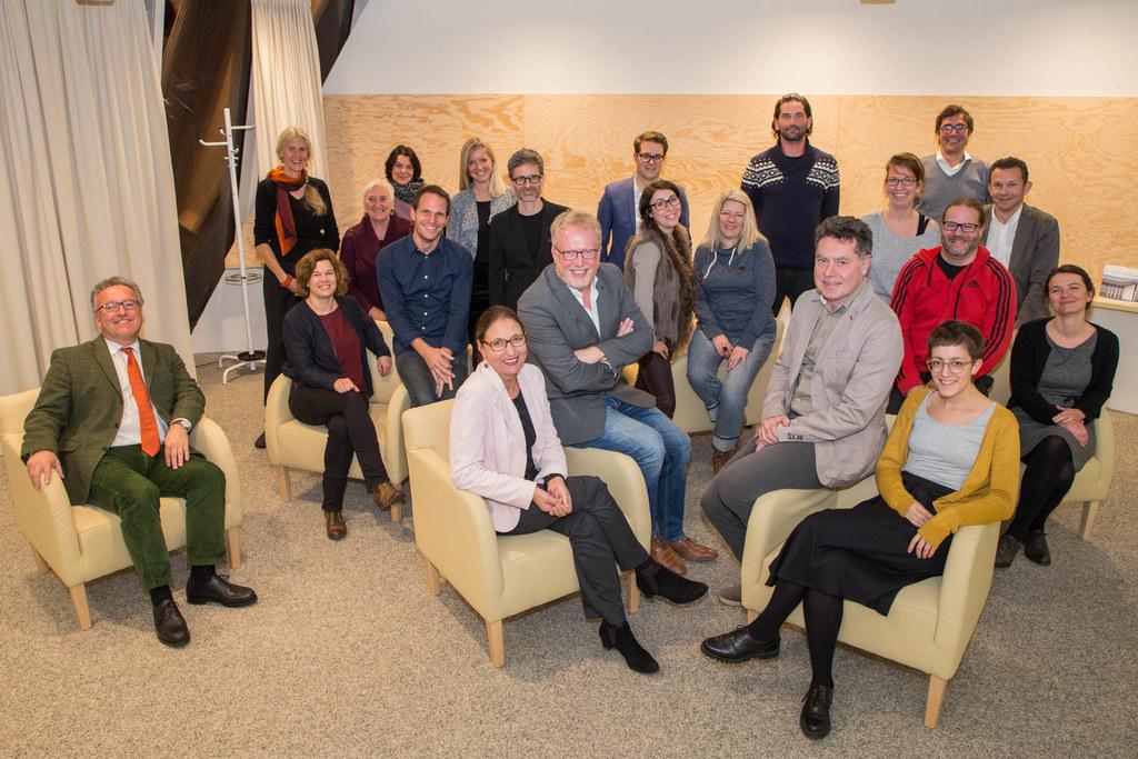Landesrat Heinrich Schellhorn mit den Mitgliedern des Landeskulturbeirates.
