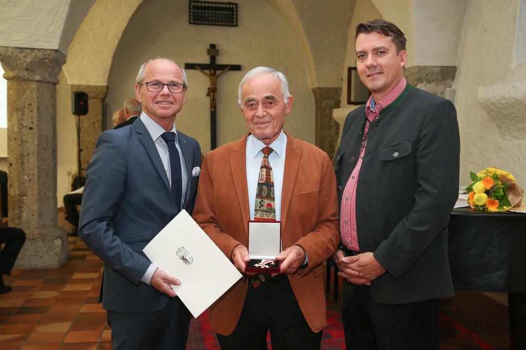 V.li.: LH-Stv. Christian Stöckl, Guido Müller, Thomas Mitterecker (Gesellschaft ..