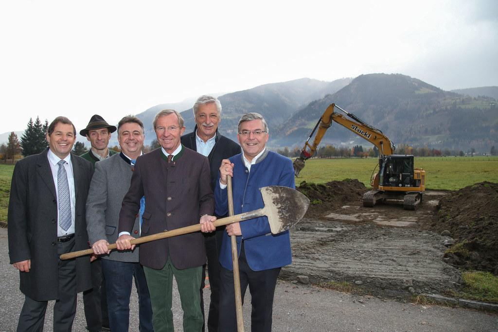 Offizieller Baustart für das Jahrhundertprojekt Hochwasserschutz Zeller Becken (..