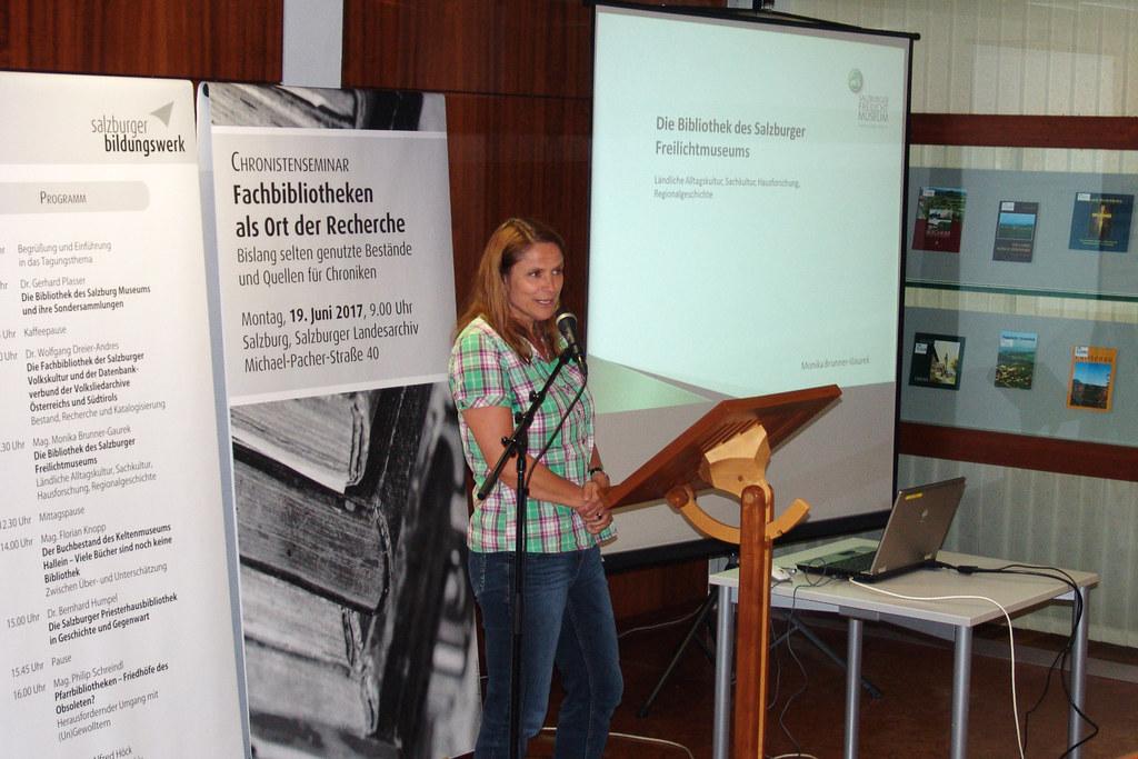 Monika Brunner-Gaurek vom Salzburger Freilichtmuseum
