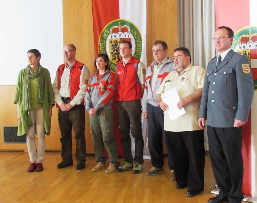 Landeshauptmann-Stellvertreterin Astrid Rössler, Werner Schuh, Julia Rieder, Mic..