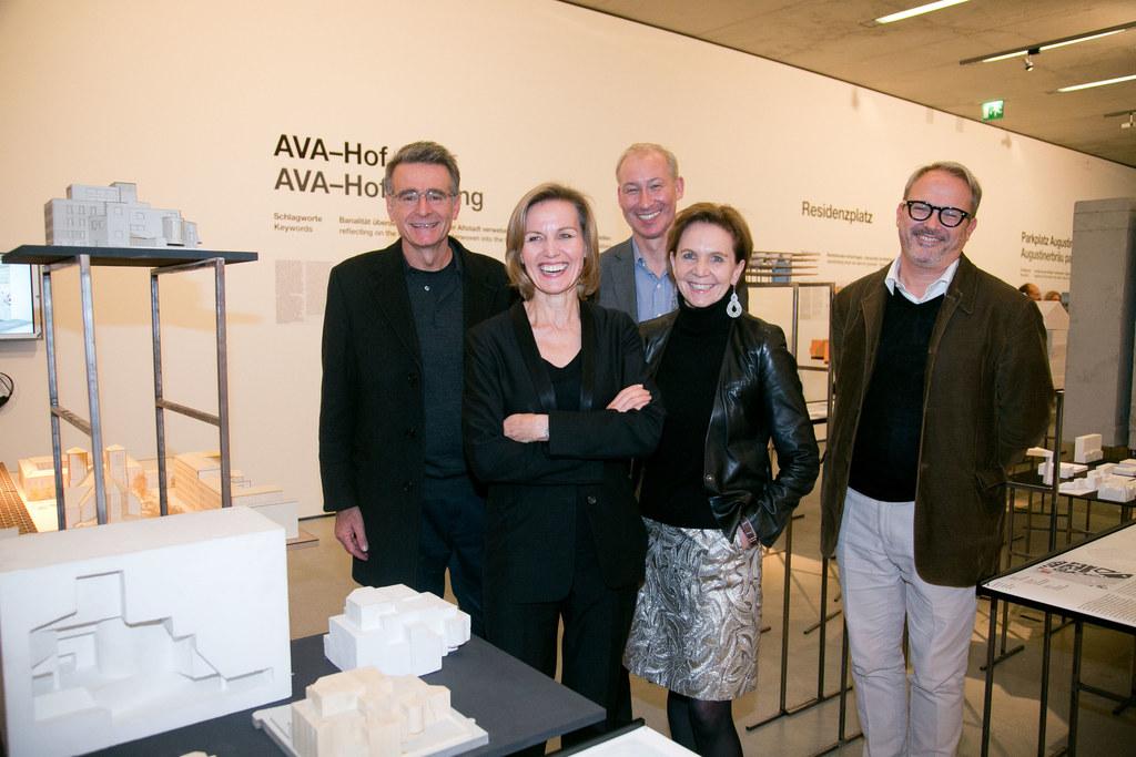 Riccardo Blumer, Sabine Breitwieser, Andreas Schmidbaur,  Landtagspräsidentin Br..