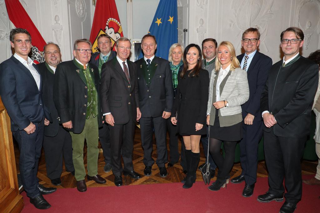 Verleihung der Ehrenzeichen für Verdienste um den Salzburger Tourismus in der Re..