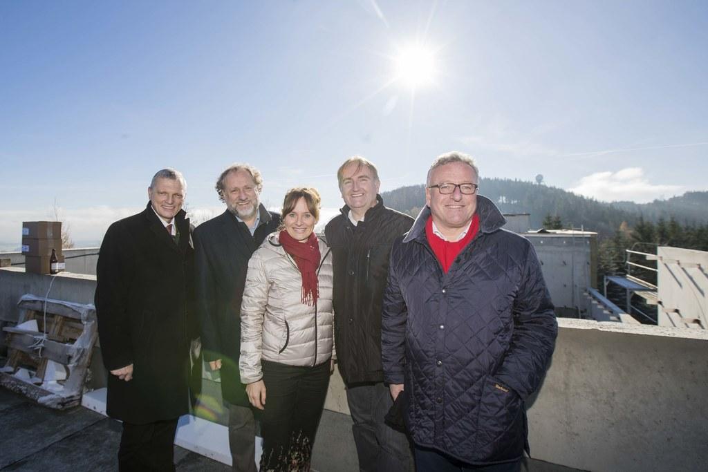 LAbg. Josef Schöchl, Norbert Winding, Landesrätin Martina Berthold, Helmut Windh..