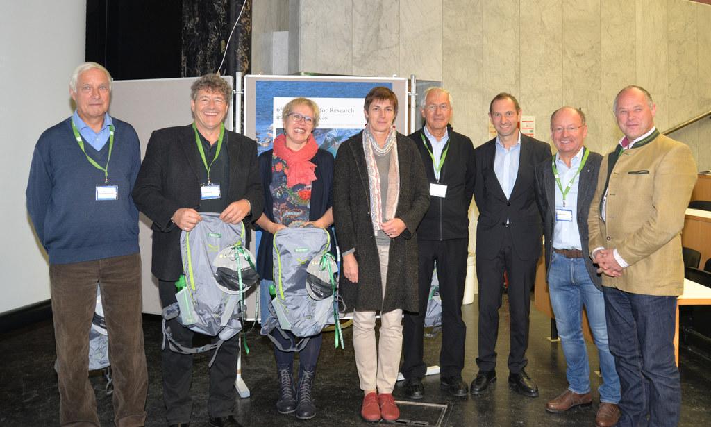 Die Stellvertretende Vorsitzende des Nationalparkrates LH-Stv. Astrid Rössler (M..
