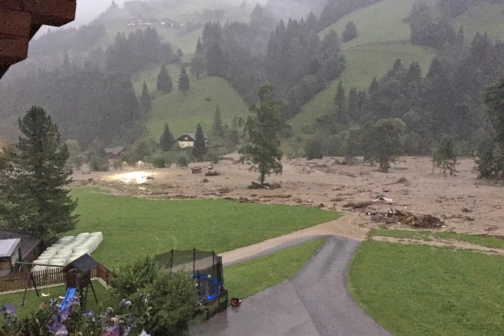 Die Unwetter im August richteten massive Schäden an.