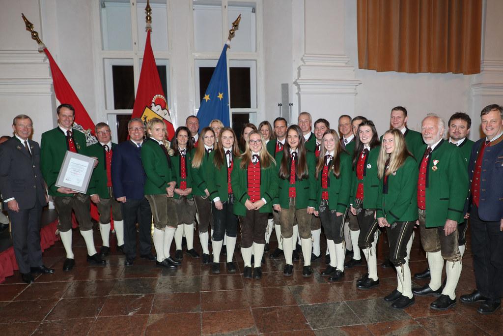 Ehrungsfestakt für Verdienste um die Salzburger Volkskultur.