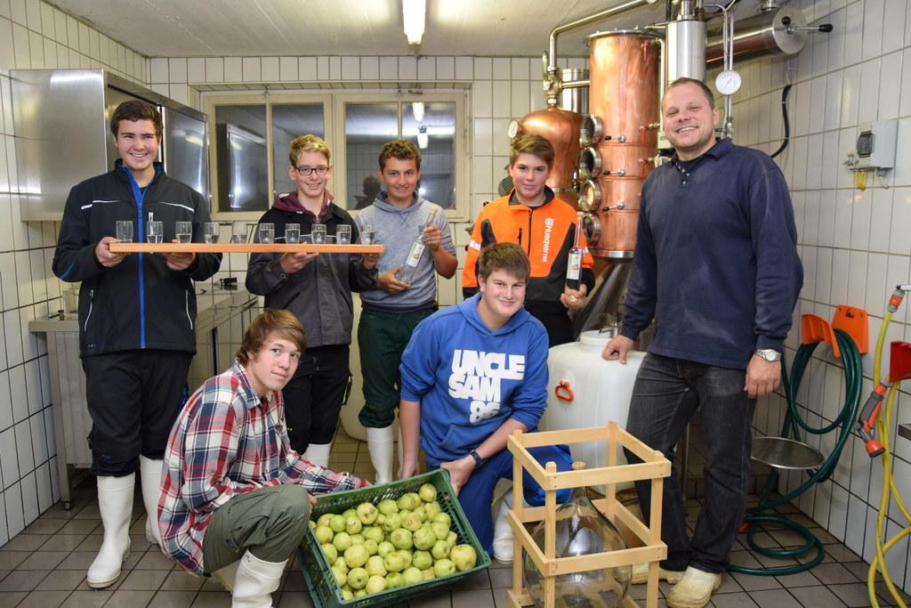 Schüler der Landwirtschaftlichen Fachschule Tamsweg