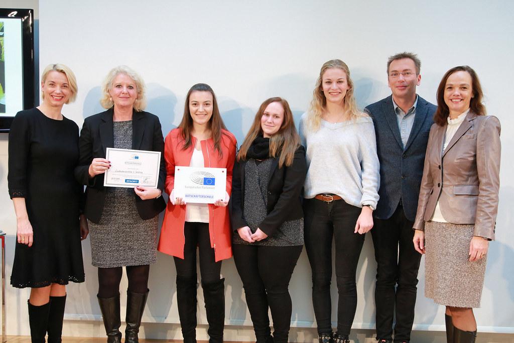 Auszeichnung der Landesberufsschule 6 als EU-Botschafterschule des Europäischen ..