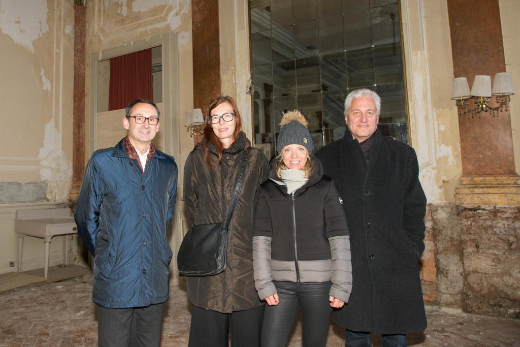 Von links:  Bmst. Alfred Pirker, Landeskonservatorin Eva Hody, Doris Höhenwarter..