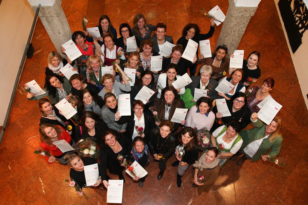 50 Frauen haben die Politiklehrgänge