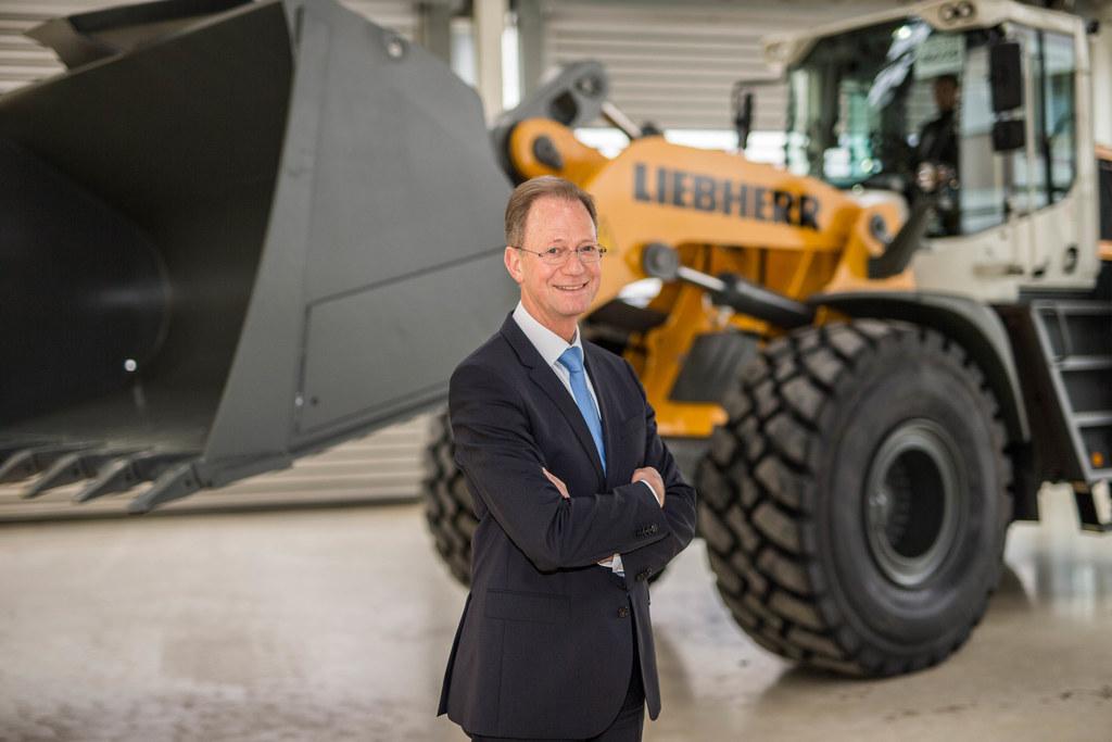 Manfred Santner - Managing Direktor Liebherr Werk Bischofshofen