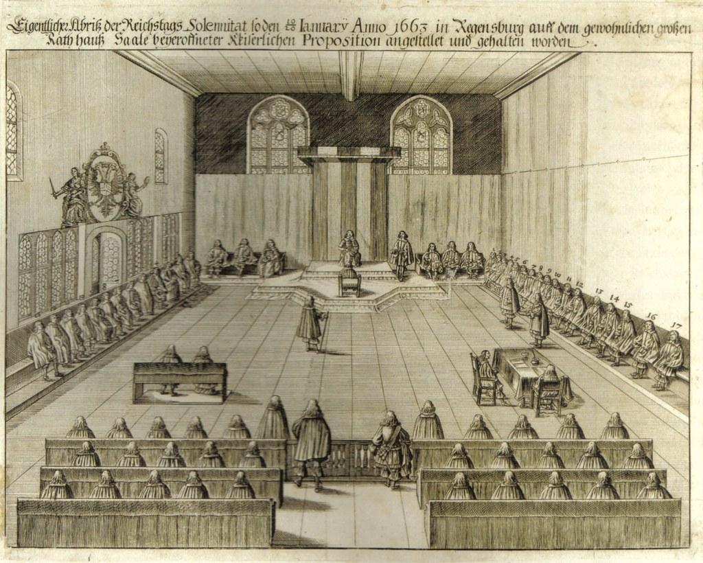 Im Immerwährenden Reichstag zu Regensburg führten die Salzburger Erzbischöfe den..