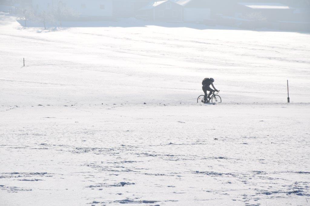 Radfahren im Winter ist gesund und stärkt das Immunsystem