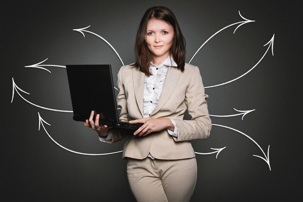 Frauen mit Unternehmergeist finden bei Frau & Arbeit kompetente Beratung.