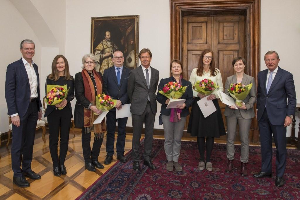 Christian Nagl, Silvia Irnleitner, Eva Maria Habersatter-Lindner, Benedikt Gratl..