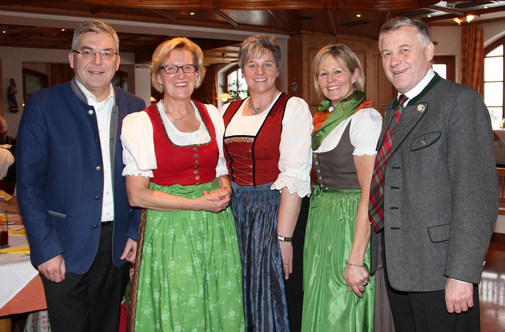Landesrat Josef Schwaiger, Referentin Maria Anna Benedikt (Ernährungsmedizinisch..