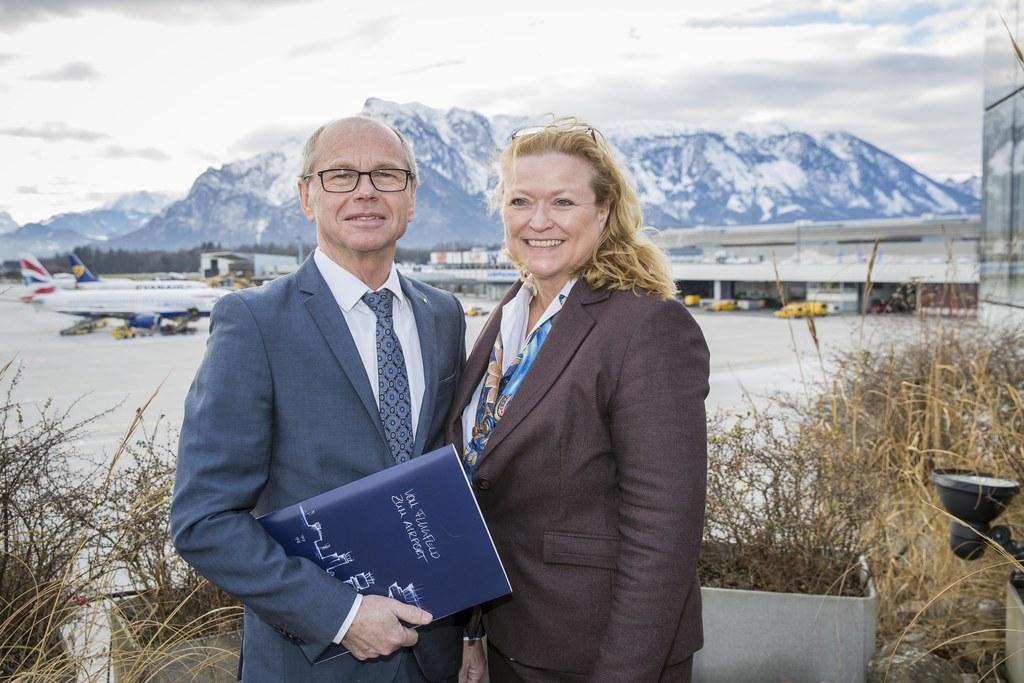 Landeshauptmann-Stellvertreter Christian und Bettina Ganghofer.