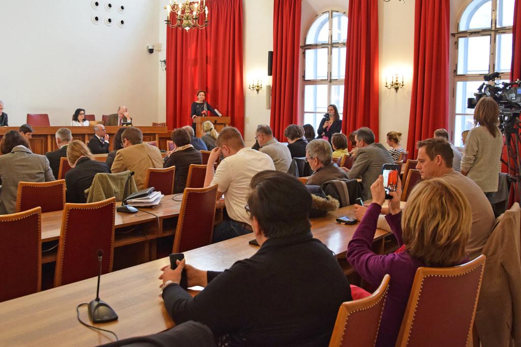 Brigitta Pallauf beim öffentlichen Hearing im Salzburger Landtag.