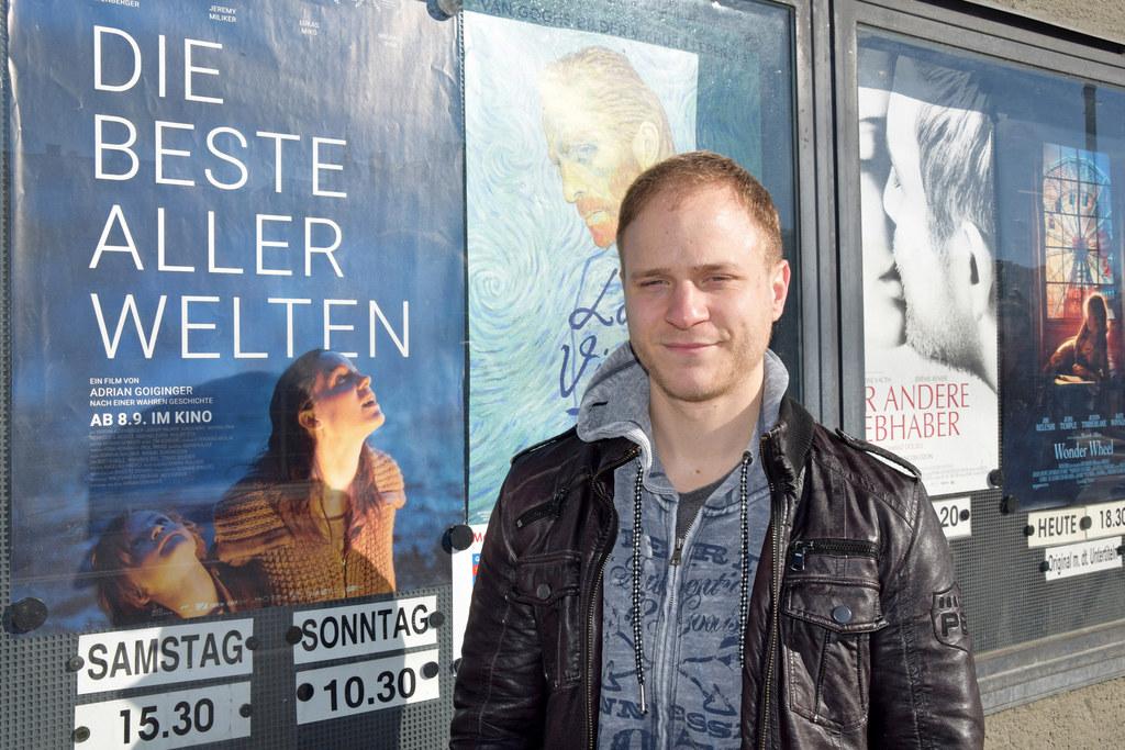 Salzburger Filmemacher Adrian Goiginger