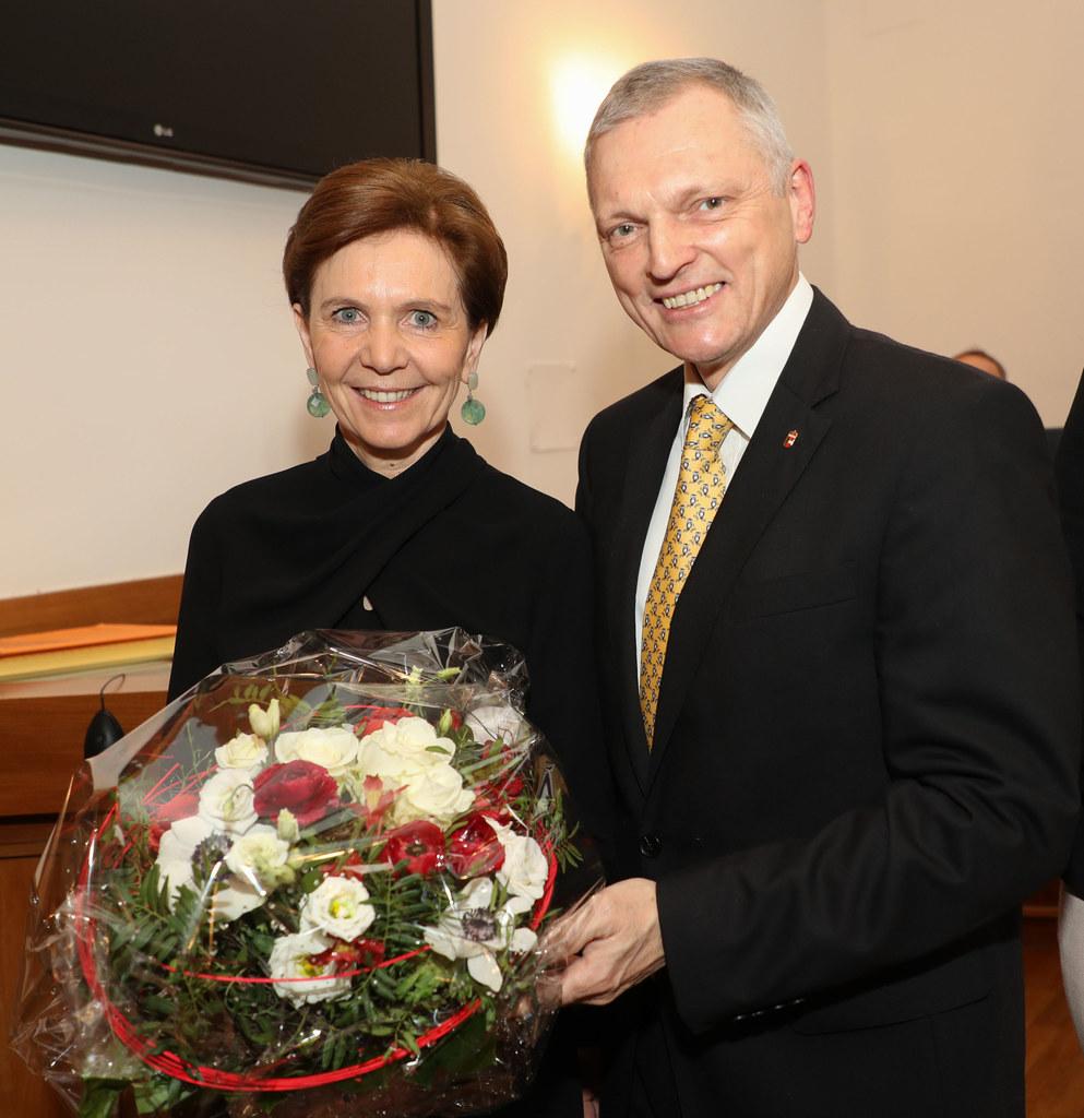 Brigitta Pallauf und Josef Schöchl