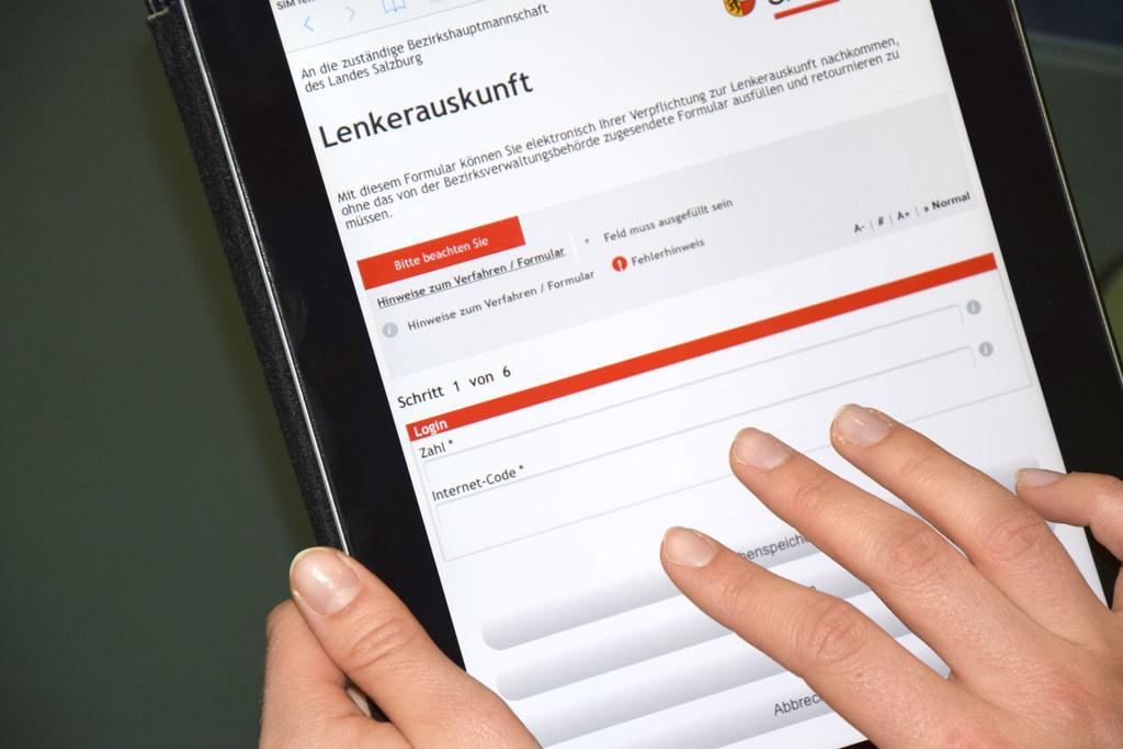 Immer mehr Anträge werden online gestellt.