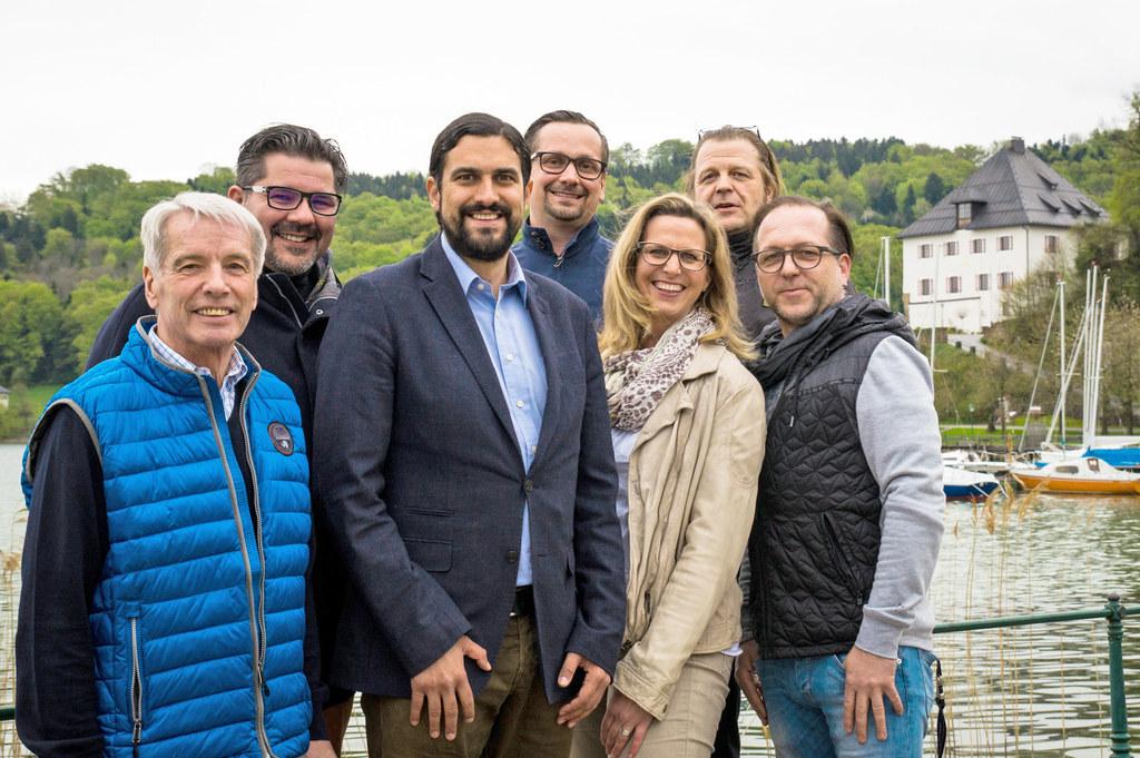 Gemeinsam für das Ortsmarketing Mattsee aktiv: Peter Kriechhammer, PKnet Consult..