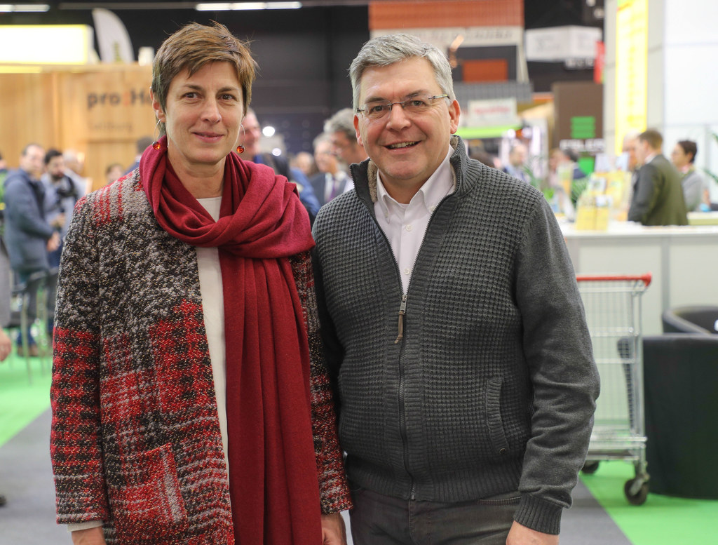 Landeshauptmann-Stellvertreterin Astrid Rössler und Landesrat Josef Schwaiger.
