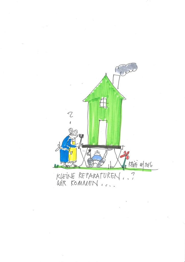 Eine kleine Reparatur oder eine Beratung zum barrierefreien Wohnen – ein Anruf b..