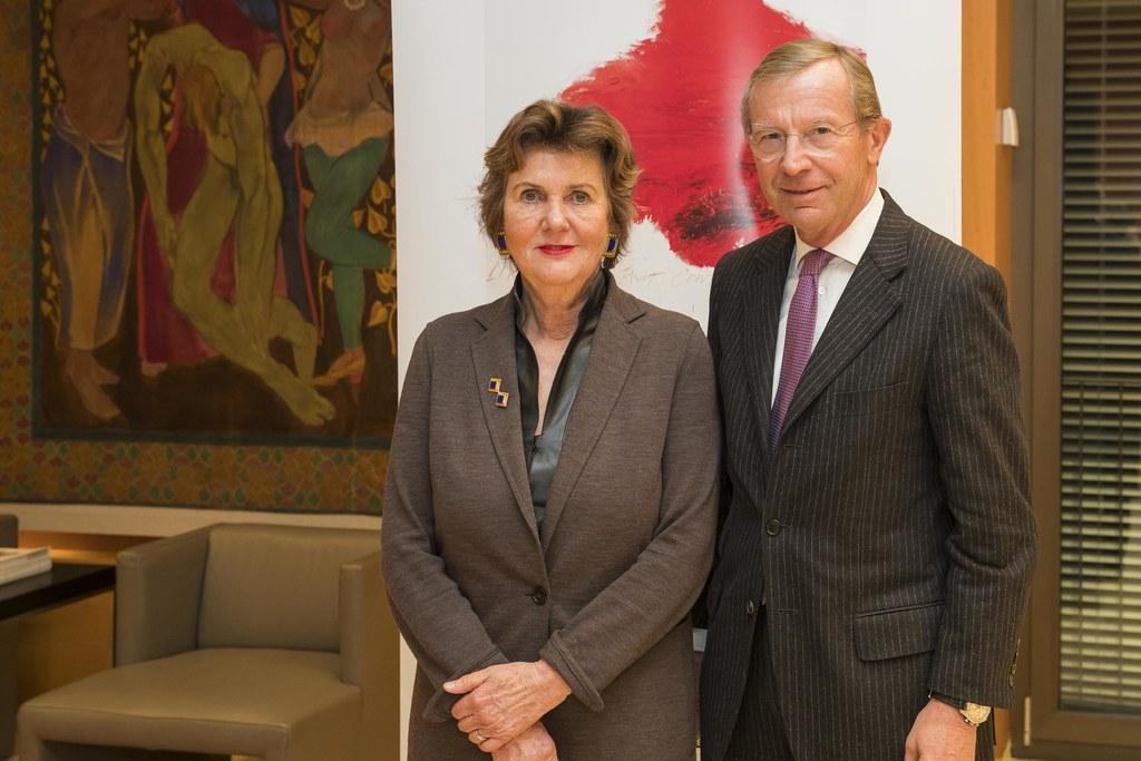 Festspielpräsidentin Helga Rabl-Stadler und Landeshauptmann Wilfried Haslauer