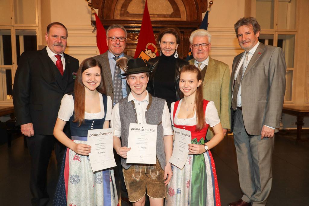 Abschlusskonzert des Landeswettbewerbs prima la musica in der Alten Residenz mit..