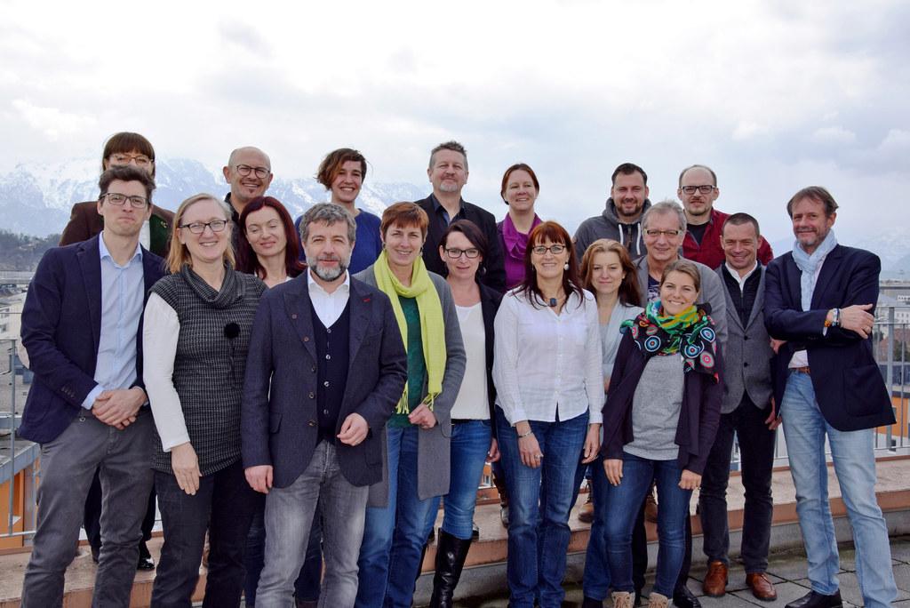 Landeshauptmann-Stellvertreterin Astrid Rössler beim Green-Event-Netzwerktreffen..