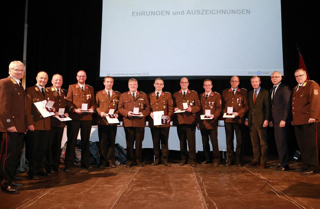 Landesfeuerwehrtag in Bischofshofen